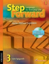 Step Forward: Level 3 Student Book with CD Pack