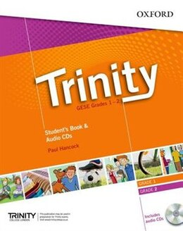 Book Trinity College London ESOL Exams Preparation Course: GESE Grades 1-2 Students Book and Audio CD by Paul Hancock