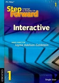 Book Step Forward: Level 1 Interactive CD-ROM by Jayme Adelson-Goldstein