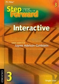 Book Step Forward: Level 3 Interactive CD-ROM by Jayme Adelson-Goldstein