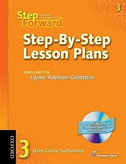 Book Step Forward: Level 3 Step-By-Step Lesson Plans Pack by Barbara Denman