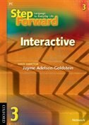 Book Step Forward: Level 3 Interactive CD-ROM (Internet Use) by Jayme Adelson-Goldstein