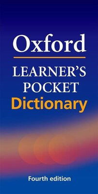 Book Oxford Learners Pocket Dictionary, Fourth edition by Oxford