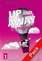 Up and Away in Phonics: Level 1 Book and Audio CD Pack