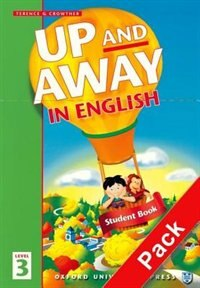 Book Up and Away in English: Level 3 Homework Book with CD Pack by Terence Crowther