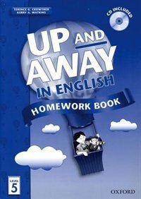 Up and Away in English: Level 5 Homework Book with CD Pack