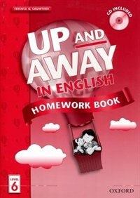 Book Up and Away in English: Level 6 Homework Book with CD Pack by Terence Crowther