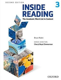 Book Inside Reading: Level 3 Student Book Pack by Bruce Rubin