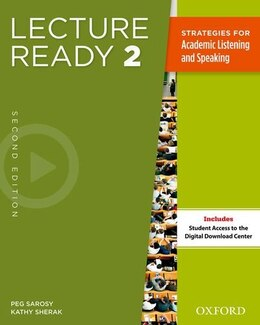 Book Lecture Ready: Level 2 Student Book by Peg Sarosy