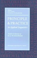 Book Oxford Applied Linguistics: Principle and Practice in Applied Linguistics: Studies in Honour of H… by Guy Cook