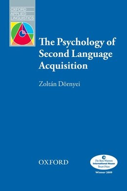 Book The Psychology of Second Language Acquisition by Zoltan Dornyei