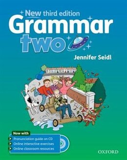 Book Grammar: Two Students Book with Audio CD by Jennifer Seidl