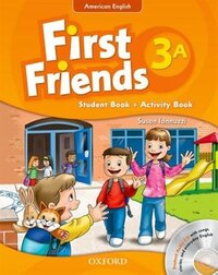 First Friends (American English): Level 3 Student Book/Workbook A and Audio CD Pack: First for…