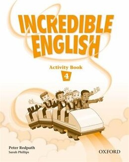 Book Incredible English: Level 4 Activity Book by Peter Redpath