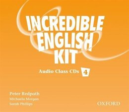 Book Incredible English: Level 4 Class Audio CDs (3) by Peter Redpath