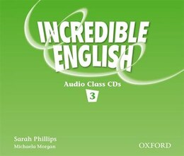 Book Incredible English: Level 3 Class Audio CDs (3) by Sarah Phillips