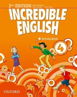 Book Incredible English: 4 Activity Book by Sarah Phillips