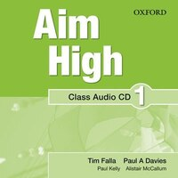 Aim High: Level 1 Class Audio CD: A new secondary course which helps students become successful…