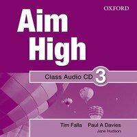 Aim High: Level 3 Audio CD: A new secondary course which helps students become successful…