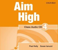 Aim High: Level 4 Audio CD: A new secondary course which helps students become successful…
