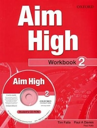 Aim High: Level 2 Workbook and CD-ROM: A new secondary course which helps students become…