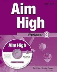 Aim High: Level 3 Workbook and CD-ROM: A new secondary course which helps students become…