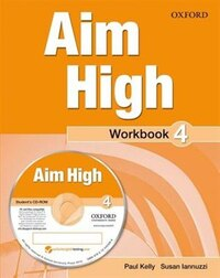 Aim High: Level 4 Workbook and CD-ROM: A new secondary course which helps students become…