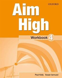 Book Aim High: Level 4 Workbook and Online Practice Pack by Paul Kelly