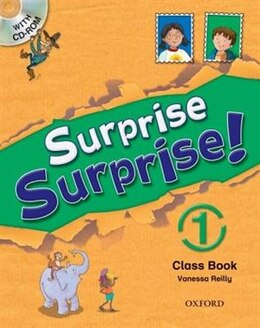 Book Surprise Surprise: Level 1 Student Book and CD-rom Pack (Not Spain) by Oxford