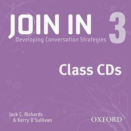 Book Join In 3: Class CD (X2) by Oxford