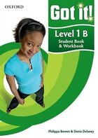 Got it!: Level 1 Students Book B and Workbook with CD-ROM: A four-level American English course for…