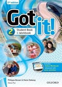 Book Got It: Level 2 Students Pack with Digital Workbook by Phillipa Bowen