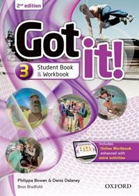 Book Got It: Level 3 Student Pack with Digital Workbook by Philippa Bowen