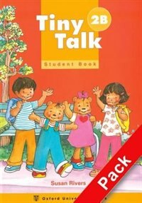 Book Tiny Talk: Level 2 Pack B (Student Book and Audio CD) by Susan Rivers