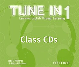 Book Tune In: Level 1 Class CDs (3) by Jack C. Richards