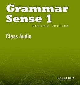 Book Grammar Sense: Level 1 Class CD (2 Discs) by Susan Kesner Bland