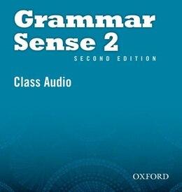Book Grammar Sense: Level 2 Class CD (2 Discs) by Susan Kesner Bland