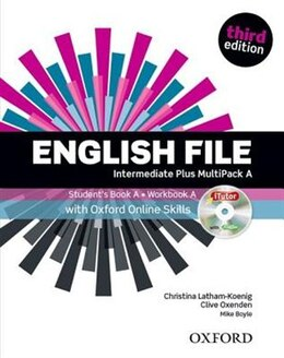 Book English File: Intermediate Plus Students Book with OOSP Multipack A Pack by Christina Latham-Koenig