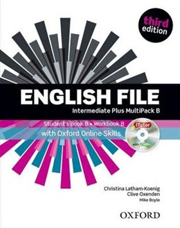 Book English File: Intermediate Plus Students Book with OOSP Multipack B Pack by Christina Latham-Koenig