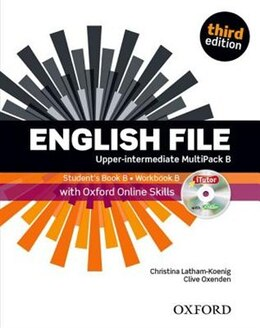 Book English File: Upper-Intermediate Students Book with OOSP and iTutor Multipack B Pack by Christina Latham-Koenig