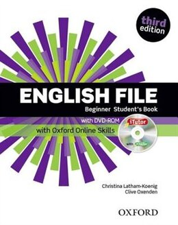 Book English File: Beginner Students Book and iTutor and Online Skills by Christina Latham-Koenig