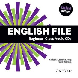 Book English File: Beginner Class Audio CD (5 Discs) by Christina Latham-Koenig