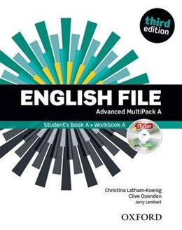 Book English File: Advanced MultiPACK A by Christina Latham-Koenig