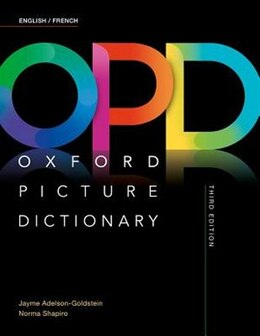 Book Oxford Picture Dictionary: English/French Dictionary by Oxford