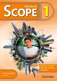 Book Scope: Level 1 Workbook with Students CD-ROM (Pack) by Lewis Lansford