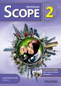 Book Scope: Level 2 Workbook with Students CD-ROM (Pack) by Ben Wetz