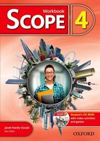 Book Scope: Level 4 Workbook with Students CD-ROM (Pack) by Janet Hardy-Gould