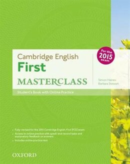 Book Cambridge English: First Masterclass: Students Book and Online Skills Practice Pack by Simon Haines