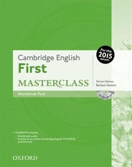 Book Cambridge English: First Masterclass: Workbook Pack without Key by Simon Haines