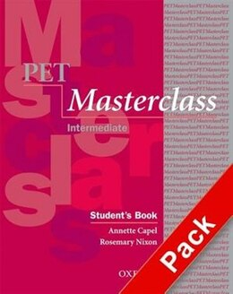 Book PET Masterclass: Pack without Key by Annette Capel